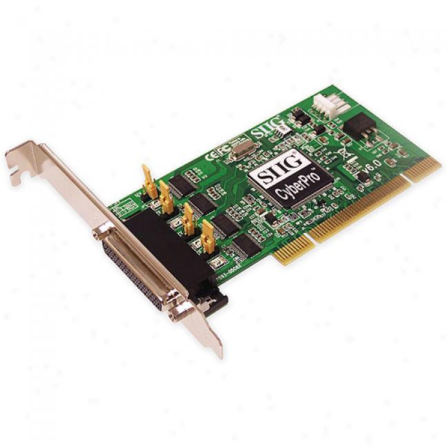 Siig Quartet Serial 550 Pci