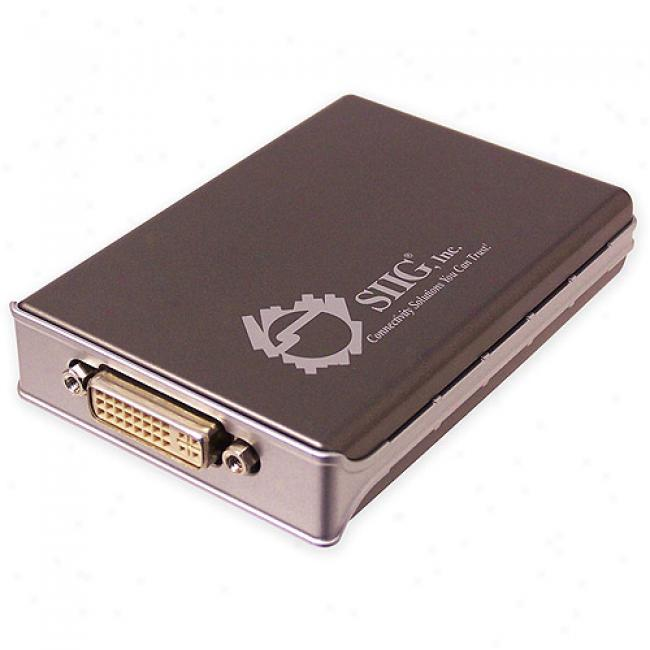 Siig Usb 2.0 To Dvi