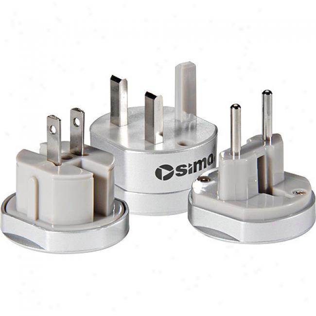 Sima Internztional Travel Adapter Plug Set