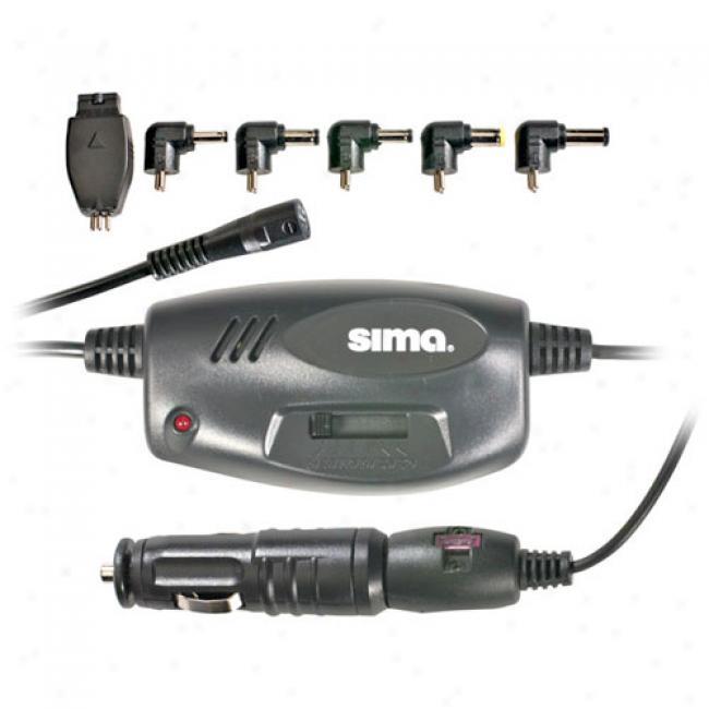Sima Universal Portable Dvd Dc Adapter, Sup-75