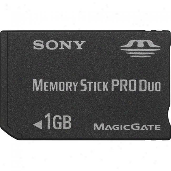 Sony 1 Gb Memory Stick Pro Duo