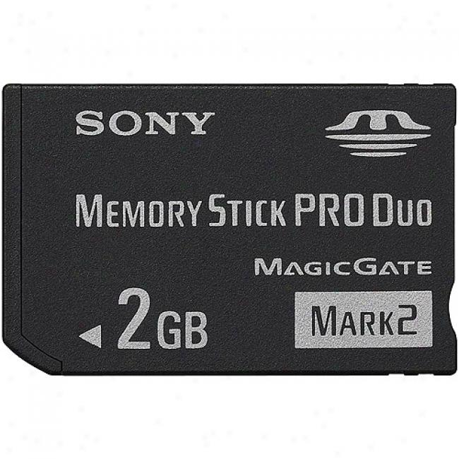 Sony 2gb Memory Rod Pro Duo Mark 2