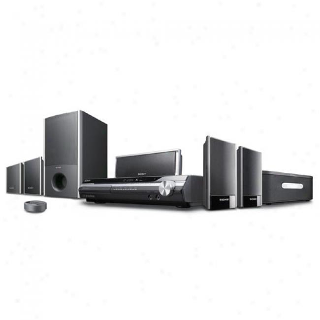 Sony Bravia Home Theater Audio System W/ Upconverting Dvd Changer & Ipod Dock, Dav-hdx277wc