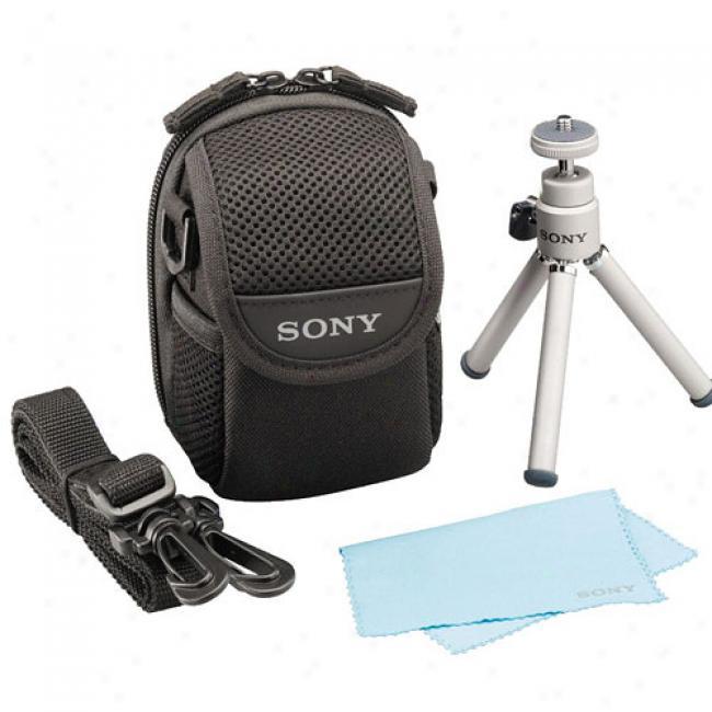 Sony Digital Camera Travel Kit - Case, 7 1/8