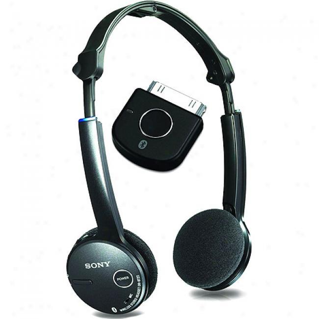 Sony Dr-bt22ik/b Bluetooth Headsey + Transkitter Kit