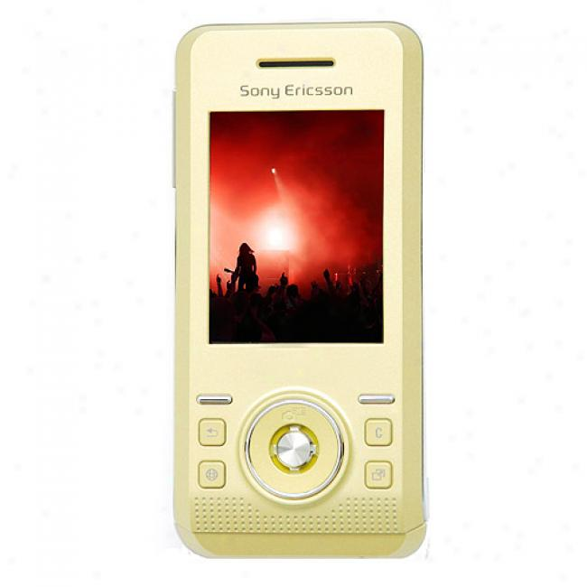 Sony Ericsson S500i Unlocked Gsm Cell Phone, Yellow