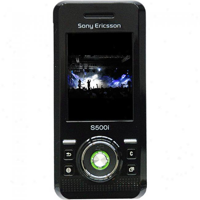 Sony Ericsson S500i Unlocked Gsm Cell Phone, Green
