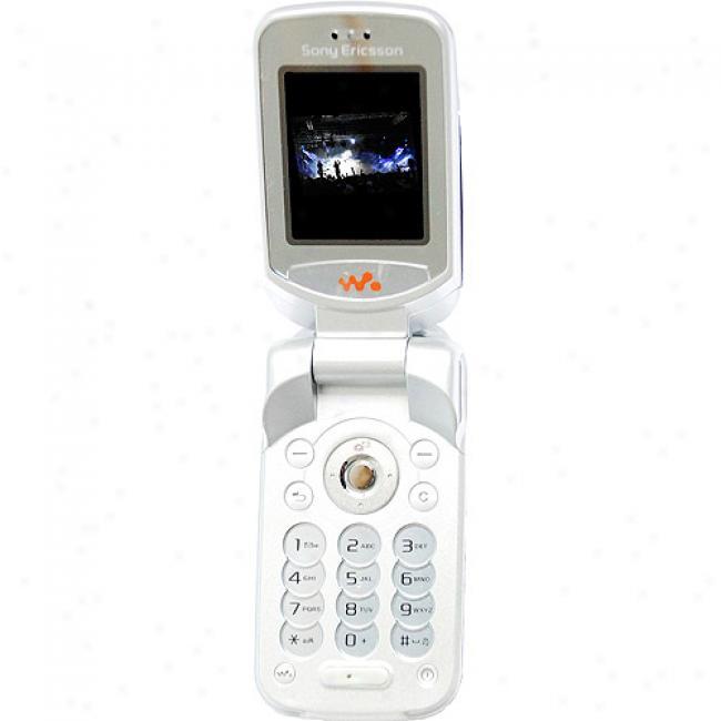 Sony Ericsson W300i Unlocked Gsm Cell Phone, White