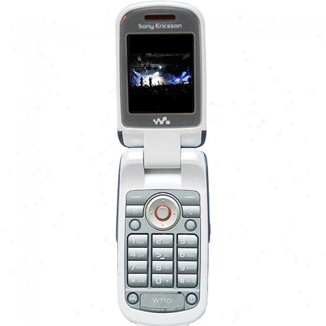 Sony Ericsson W300i Unlocked Gsm Cell Phone, Black