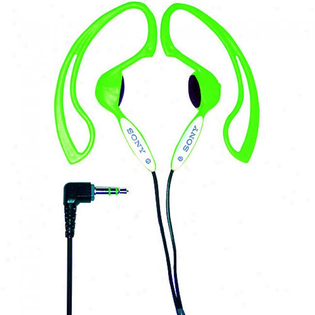 Sony Green H.ear Stereo Headphones