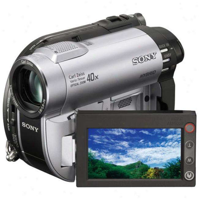 Sony Handycam Dcr-dvd610 Dvd Camcorder W/ 40x Optical Zoom