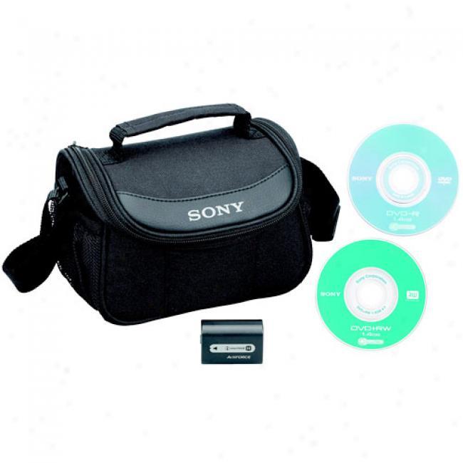 Sony Handycam Dvd Camcorder Starter Kit