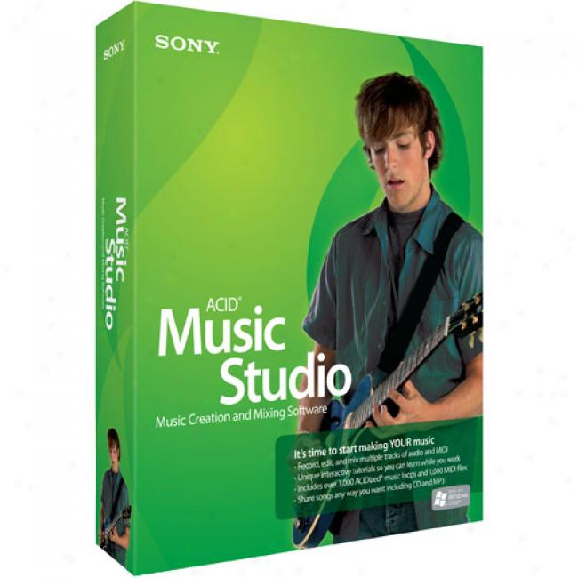 Sony Media Software Acid Music Studio 7 (pc)