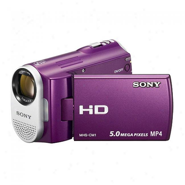 Sony Mhs-cm1/v Webbie Hd Camera With 2.5