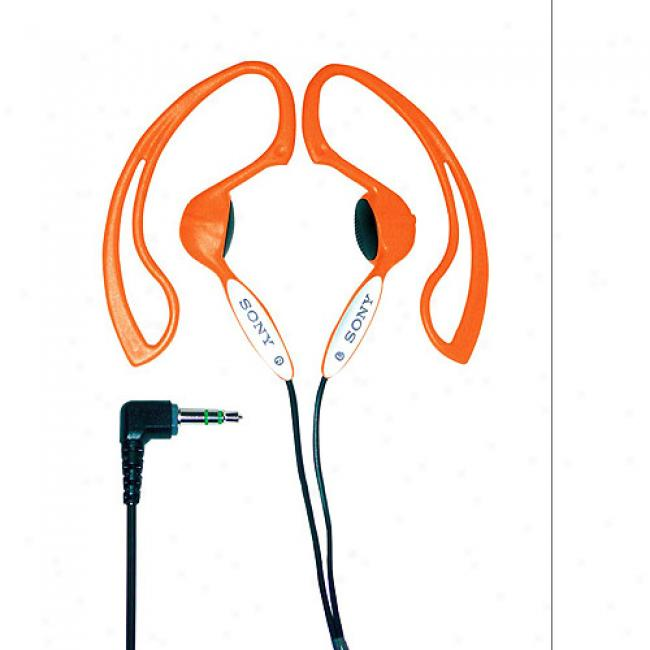 Sony Orange H.ear Stereo Headphones