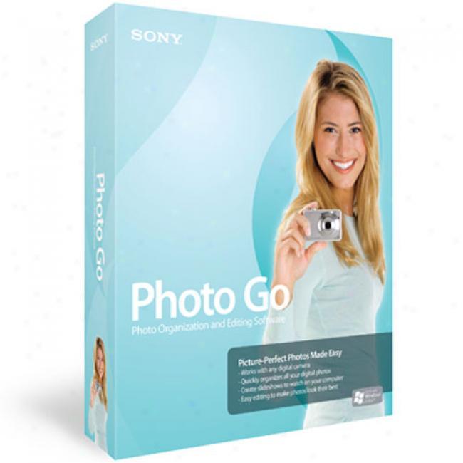Sony Photo Go Photo Editing Software (pc)
