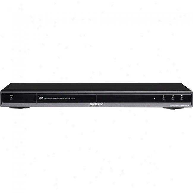 Sony Progressive Scan Dvd Player - Black, Dvp-ns57p/b