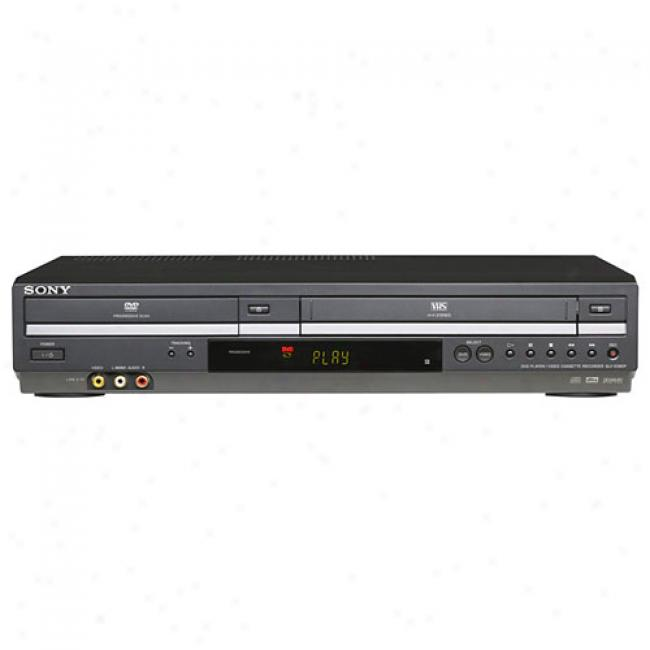 Sony Advancing Recite metrically Dvd/vcr oCmbo