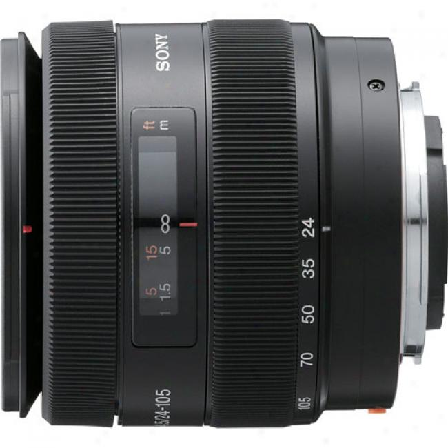 Sony Sal-24105 24-105mm F/3.5-4.5 Standard Zoom Lens For Sony Alpha Digitzl Slr