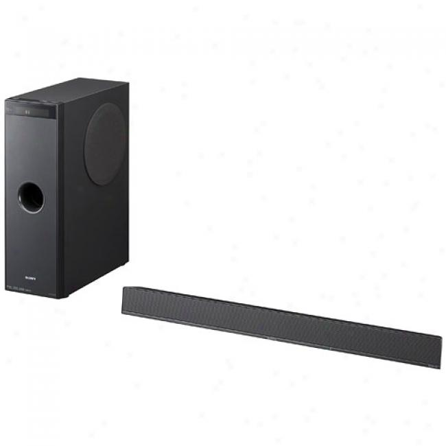 Sony Sond Bwr Home Theater Audio System W/ Subwoofer, Ht-ct100