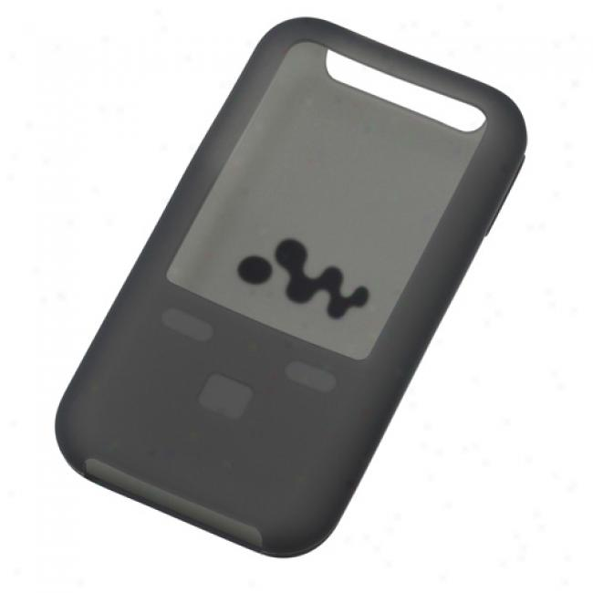 Sony Walkman Black Silicone Case