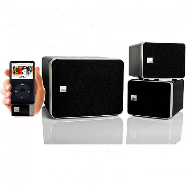 Soundon Media-i210 High Perfirmance 2.1 Digital Wireless Speaker System For Ipod