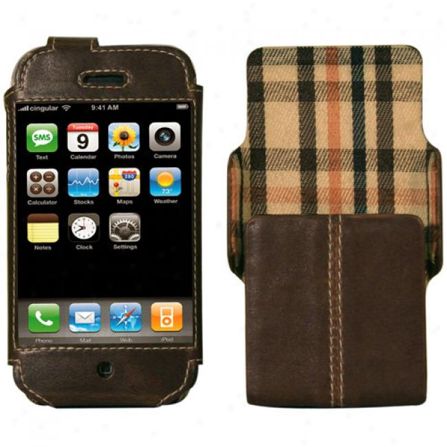 Speck Iphone Techstyle Classic Case Brown