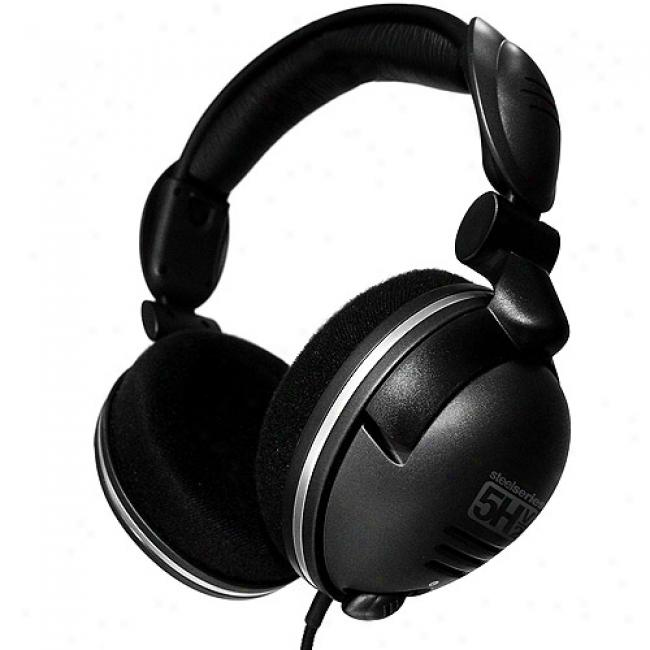 Steel Series 5h V2 Gaming Headset W/ Usb Soundcard