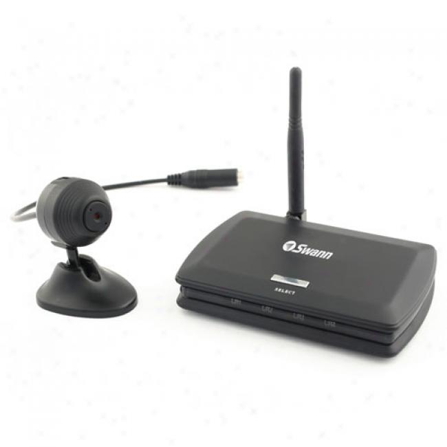 Swann Wireless Mini Security Camera W/ Audio & Receiver