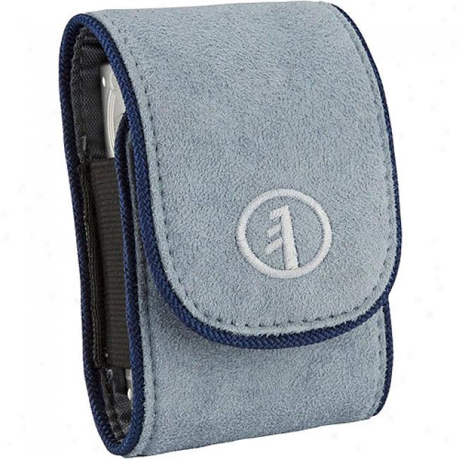 Tamrac Express Case 2 3582 Suede Digital Ultra-compact Camera Bag, Light Blue
