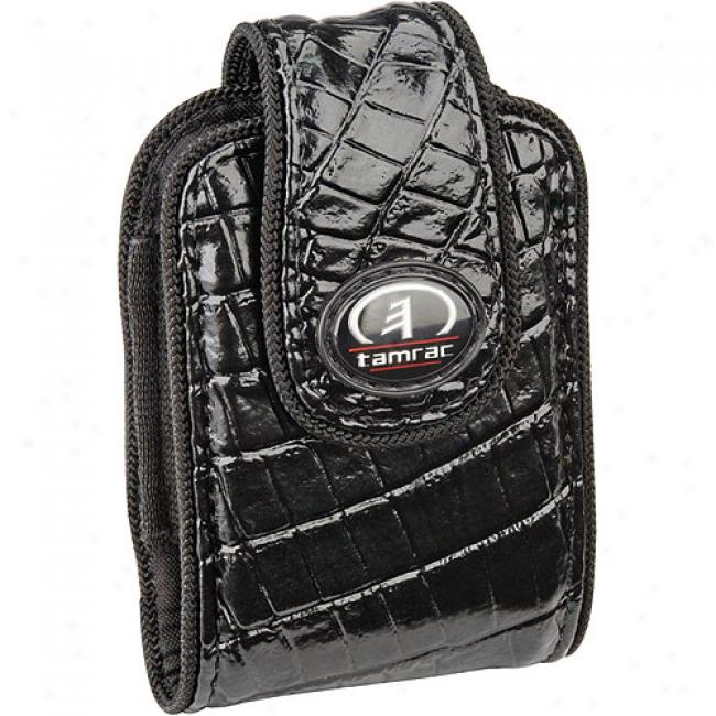 Tamrac Safari Case 3431 Ultra-compact Digital Camera Or Cell Phone Bag, Black Crocodile