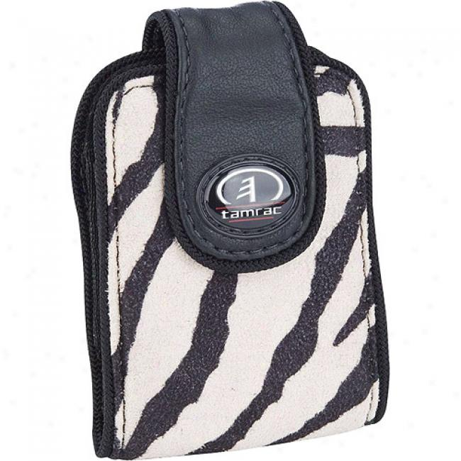 Tamrac Safari Case 3431 Ultra-compact Digital Camera Or Cell Phone Bg, Zebra