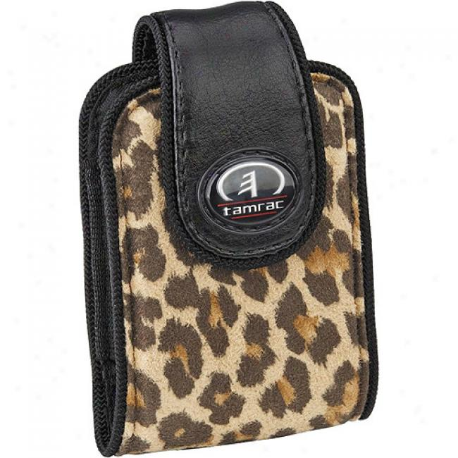 Tamrac Safari Case 3431 Ultra-compact Digital Camera Or Cell Phone Bag, Leopard