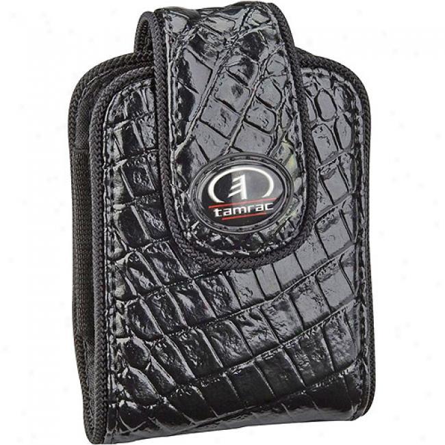 Tamrac Safari Case 3433 Compactt Digital Camera Bag, Black Crocodile