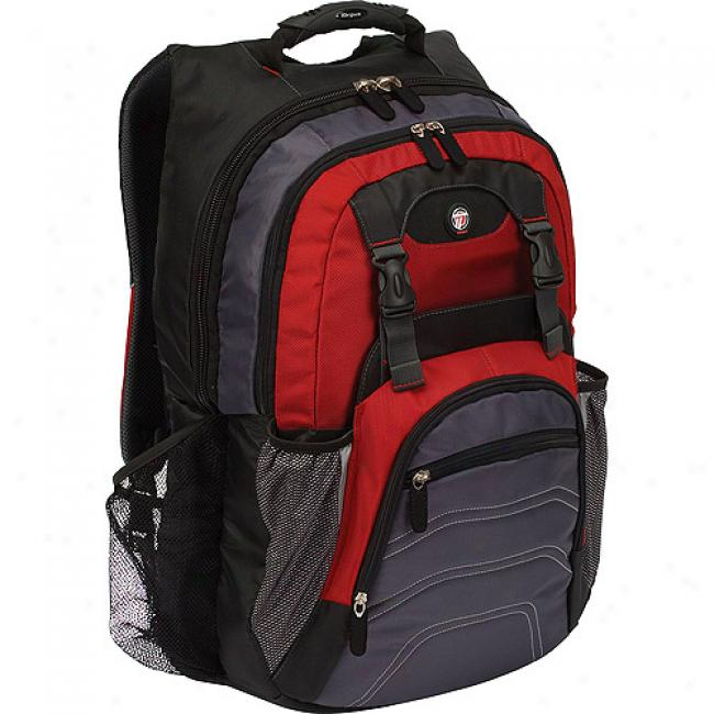 Targus 'shield' Backpack Fo 17'' Laptops, Red