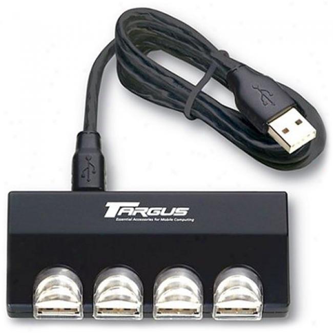 Targus Ultra Mini Usb Hub (4 Ports), Pa055u