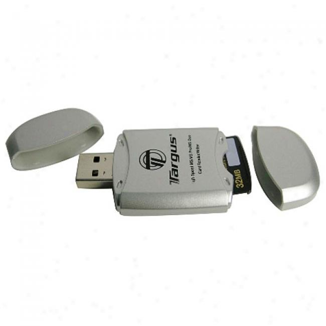 Targus Usb 2.0 Memory Stick Card Reader/writer For Memory Stick