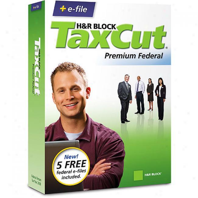 Taxcut 08 Premium Federal + Efile