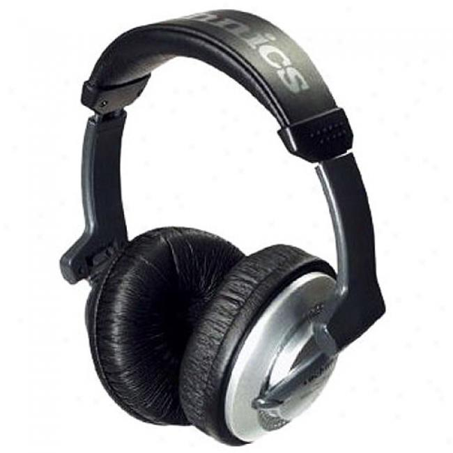 Technnics Dj Headphones With Reversible Housing Design, Foldable