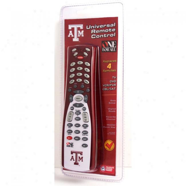 Texas A&m Universal Remote Control