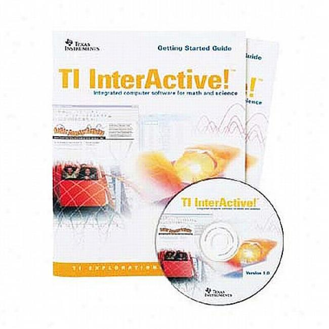 Texas Instruments Interactive! Scholar Software For Windows