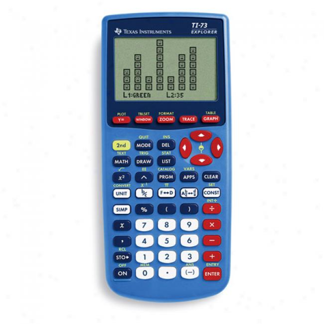 Texas Instruments Ti-73 Vieqscreen Graphing Calculator