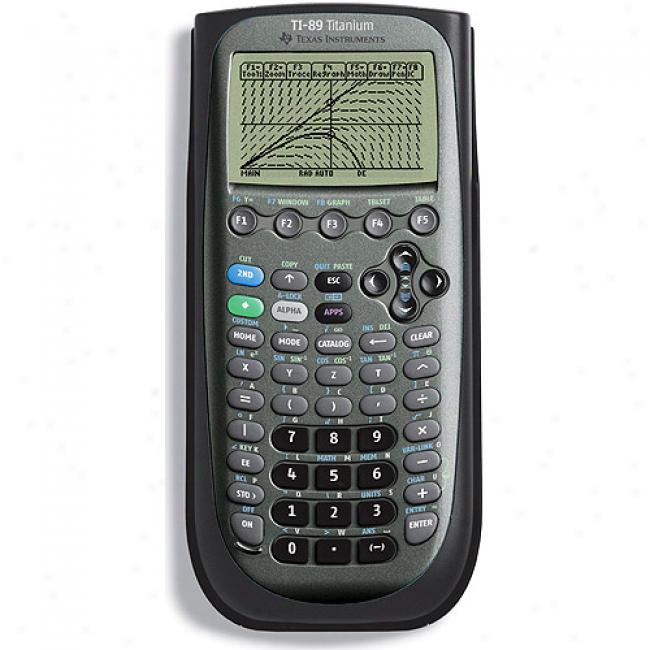 Texas Instruments Ti-89 Titanium Viewscreen Calculator