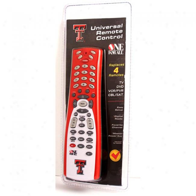 Texas Tech University Unlimited Remote Control