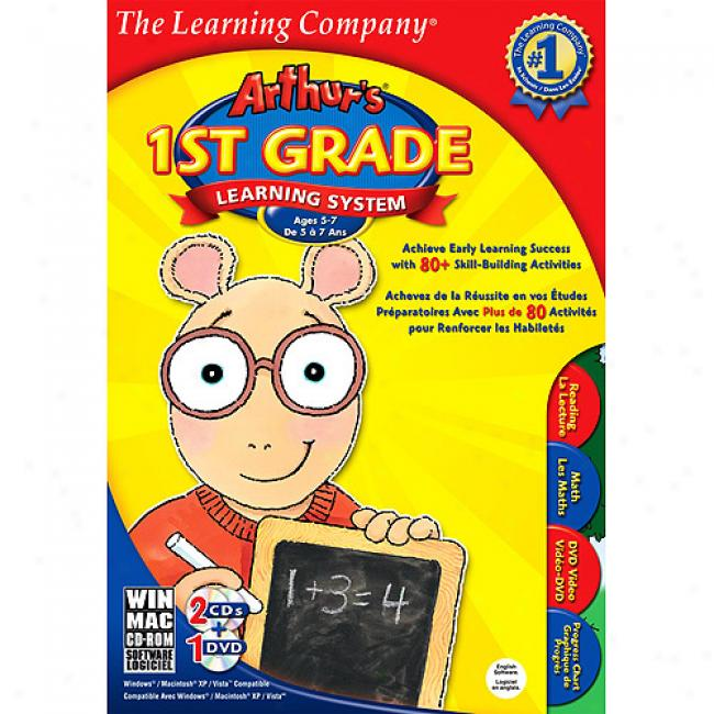 The Learning Company Afthur's 1st Grade Learning System (pc)
