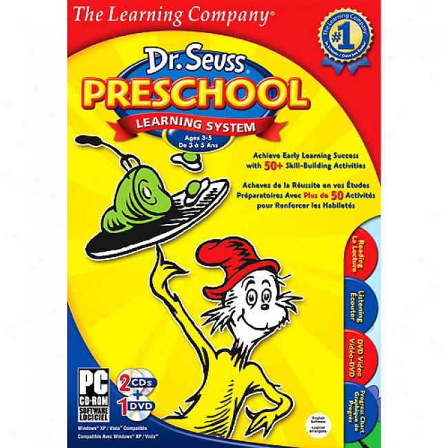 The Learning Company Dr. Seuss Presdhool 2009 (pc)