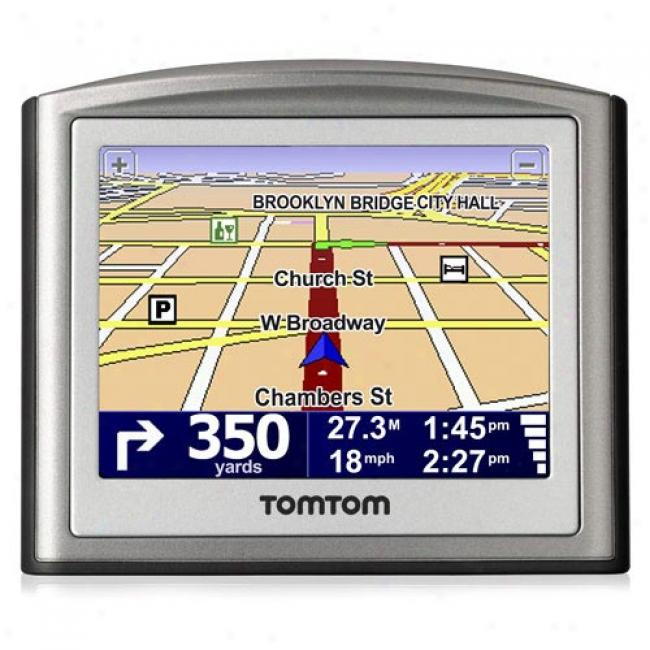 Tomtom One Gps Attendant Navigation System, 3rd Edition