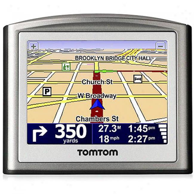 Tomtom One-s Edition Auto Gps With Spoken Stree Ntames