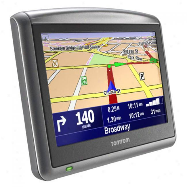 Tomtom One Xls Portable Gps W/ 4.3