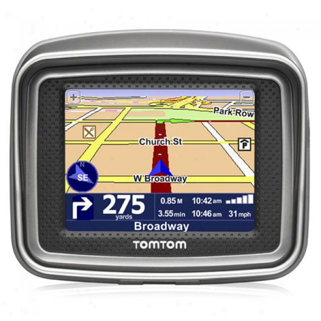 Tomtom Rider Gps For Motorcycles Waterproof, 2nd Edition